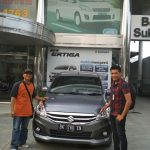 Foto Penyerahan Unit 7 Sales Marketing Mobil Dealer Suzuki Medan Ipan