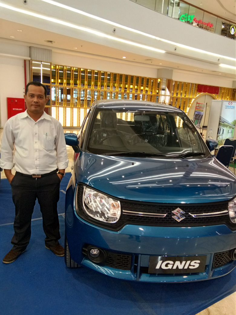 Sales Marketing Mobil Dealer Suzuki Medan Ipan
