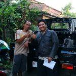 Foto Penyerahan Mobil 1 Sales Marketing Mobil Dealer Daihatsu Semarang Hengki